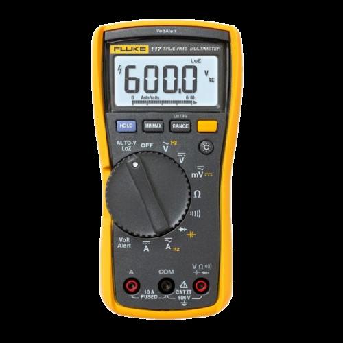 Multímetro P/Mnto Electrico Con Detector Sin Contacto