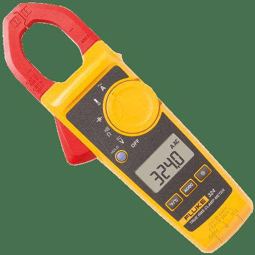 Amperimetro De Gancho 400A Ac True Rm C/Temp