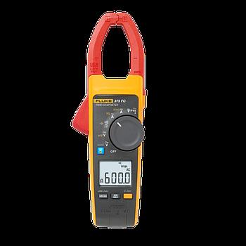 Amperimetro De Gancho 600A Trms Ac/Dc, C/Filtro, Con Fc