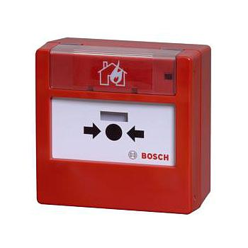 Manual Call Point, Color Red, Indoor, Conv. Resettable Plastic Pane, EN